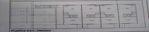 ref.: 6474 - casa em praia grande, no bairro melvi - 2 dormi