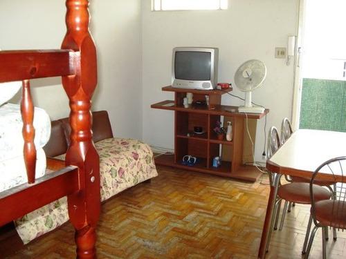 ref.: 647600 - apartamento em praia grande, no bairro guilhermina - 1 dormitórios
