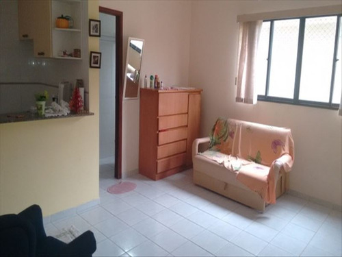 ref.: 649 - apartamento em praia grande, no bairro caicara - 1 dormitórios