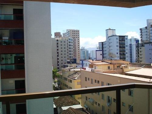 ref.: 651600 - apartamento em praia grande, no bairro guilhermina - 2 dormitórios