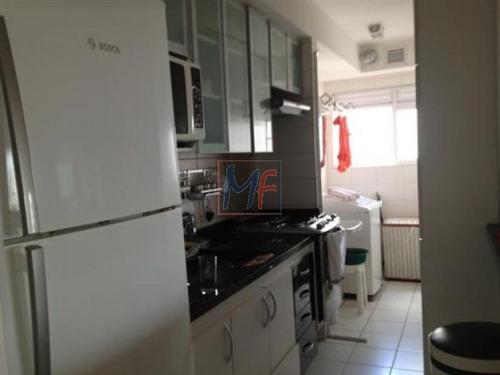 ref 6531- lindo apto com lazer completo e varanda gourmet - pq da mooca . - 6531