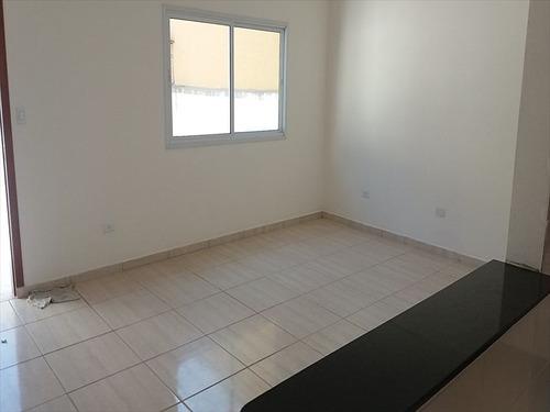 ref.: 654 - casa em mongaguá, no bairro vila atlantica - 3 dormitórios