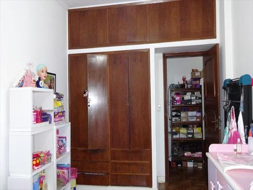 ref.: 6550 - apartamento em santos, no bairro boqueirao - 3 dormitórios
