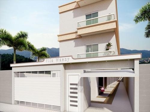 ref.: 6591 - casa em santos, no bairro gonzaga - 2 dormitórios