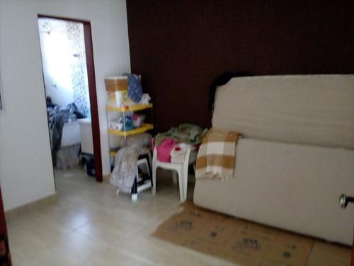 ref.: 660 - casa em mongaguá, no bairro vera cruz - 2 dormitórios