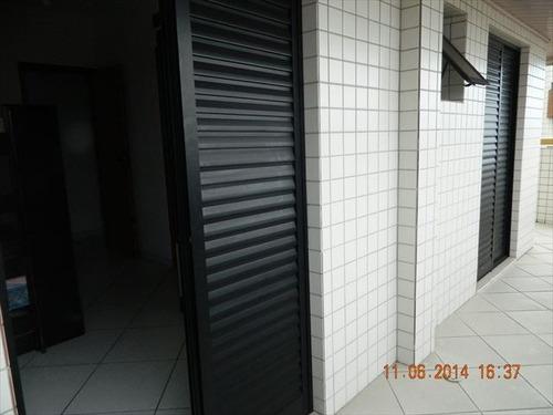 ref.: 660500 - apartamento em praia grande, no bairro guilhermina - 2 dormitórios