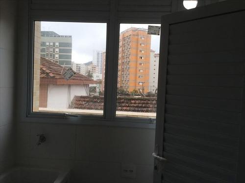ref.: 6606 - apartamento em santos, no bairro pompéia - 2 dormitórios