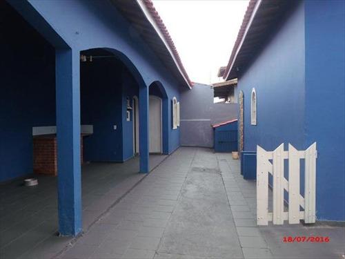 ref.: 661 - casa em itanhaem, no bairro balneario california - 4 dormitórios