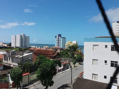 ref.: 663 - apartamento em mongaguá, no bairro vera cruz - 2 dormitórios