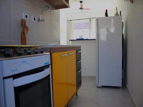 ref.: 664 - casa condomínio fechado em itanhaem, no bairro umuarama - 2 dormitórios