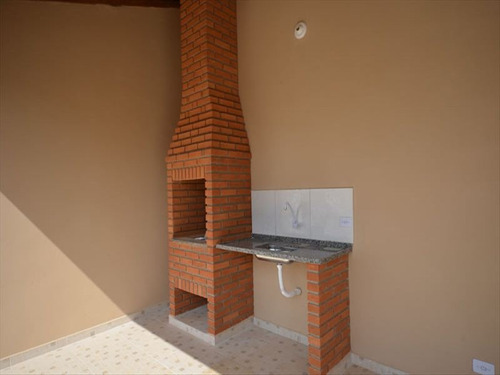 ref.: 665 - casa em itanhaem, no bairro cibratel ii - 3 dormitórios