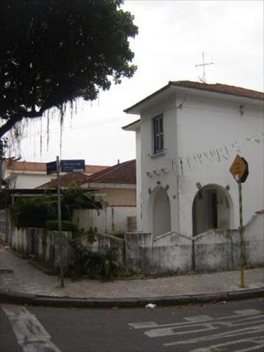 ref.: 6677 - casa em santos, no bairro embare - 3 dormitórios