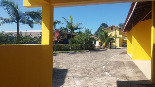 ref.: 6700 - casa em itanhaém, no bairro umuarama - 2 dormitórios