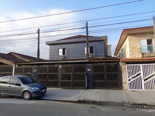 ref.: 672 - casa em praia grande, no bairro mirim - 3 dormitórios