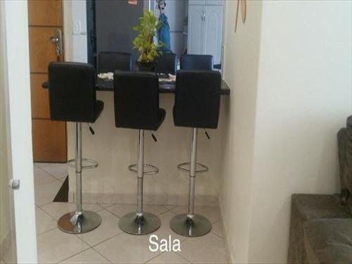 ref.: 6729 - apartamento em santos, no bairro saboo - 2 dormitórios