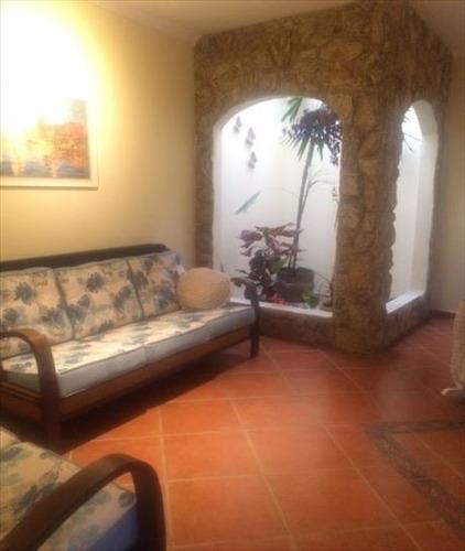 ref.: 674200 - casa em praia grande, no bairro guilhermina - 3 dormitórios