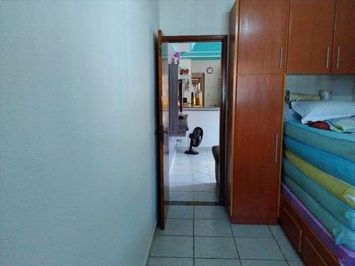 ref.: 674800 - casa em praia grande, no bairro caicara - 2 dormitórios