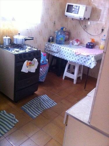 ref.: 677400 - casa em praia grande, no bairro guilhermina - 2 dormitórios