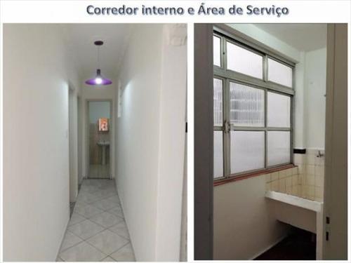 ref.: 6790 - apartamento em santos, no bairro campo grande - 2 dormitórios