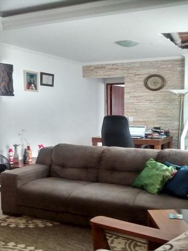 ref.: 680300 - casa em praia grande, no bairro guilhermina - 3 dormitórios