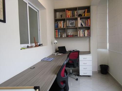 ref.: 6806 - apartamento em santos, no bairro boqueirao - 2 dormitórios
