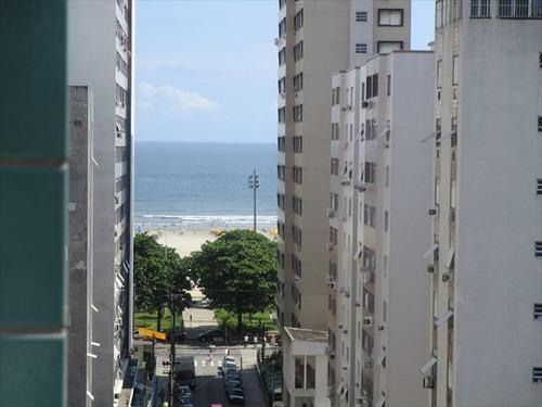 ref.: 6826 - apartamento em santos, no bairro gonzaga - 1 dormitórios