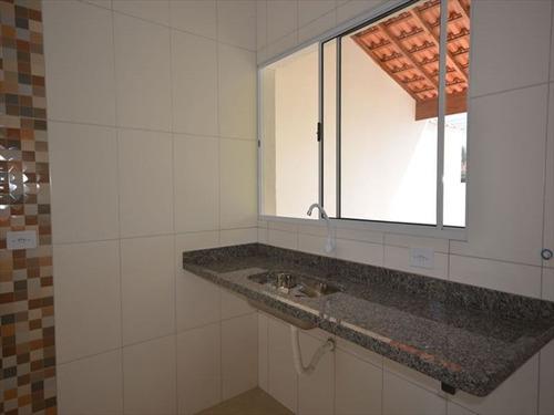 ref.: 685 - casa em itanhaem, no bairro cibratel ii - 3 dormitórios