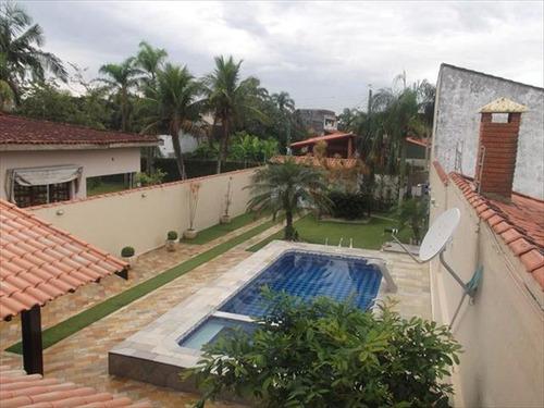 ref.: 687 - casa em itanhaem, no bairro cibratel ii - 4 dormitórios