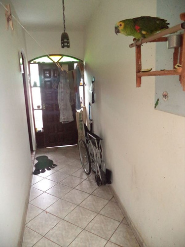 ref.: 687 - casa em praia grande, no bairro canto do forte - 2 dormitórios
