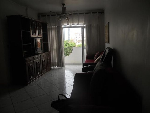 ref.: 6876 - apartamento em santos, no bairro embare - 3 dormitórios
