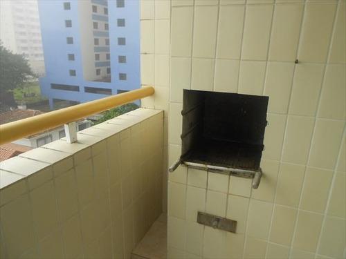 ref.: 688 - apartamento em praia grande, no bairro caicara - 2 dormitórios