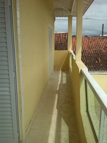 ref.: 68901 - casa condomínio fechado em praia grande, no bairro tupiry - 2 dormitórios