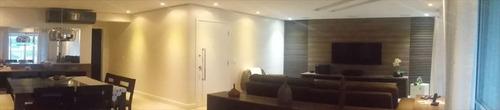 ref.: 6915 - apartamento em santos, no bairro gonzaga - 3 dormitórios