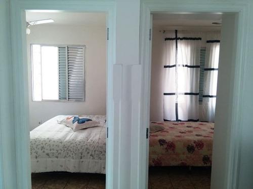 ref.: 6926 - apartamento em santos, no bairro marape - 2 dormitórios