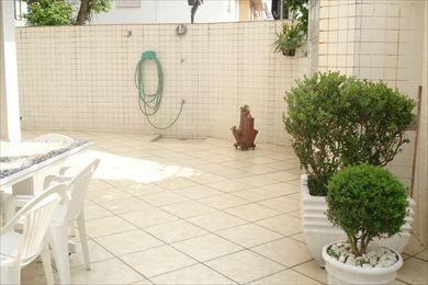 ref.: 695 - casa em santos, no bairro ponta da praia - 3 dormitórios