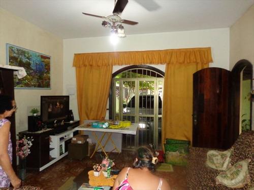 ref.: 696 - casa em praia grande, no bairro caicara - 3 dormitórios