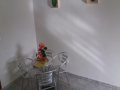 ref.: 697 - apartamento em mongaguá, no bairro jardim praia grande - 2 dormitórios
