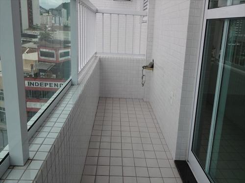 ref.: 7013 - apartamento em santos, no bairro encruzilhada - 1 dormitórios