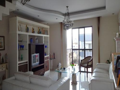 ref.: 7020 - apartamento em santos, no bairro aparecida - 3 dormitórios