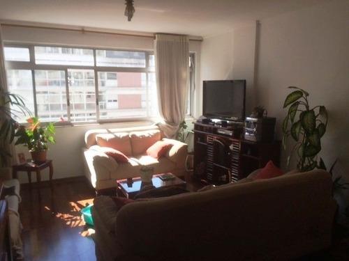 ref.: 7071 - apartamento em sao paulo, no bairro higienopolis - 3 dormitórios