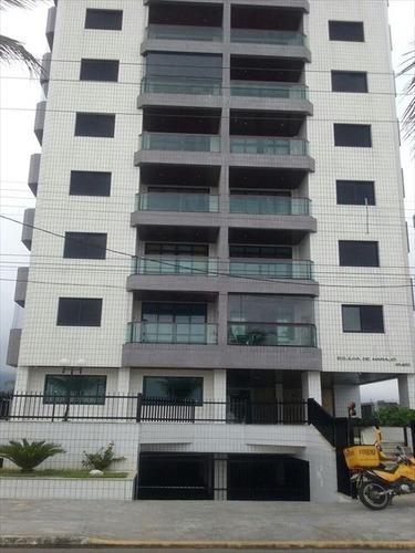 ref.: 709 - apartamento em praia grande, no bairro caicara - 2 dormitórios