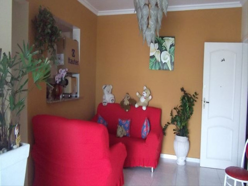 ref.: 71001 - apartamento em praia grande, no bairro boqueirao - 2 dormitórios