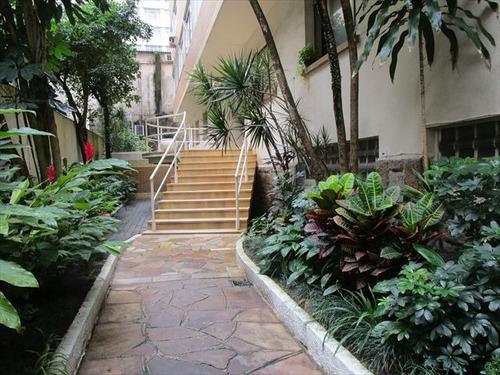 ref.: 7117 - apartamento em santos, no bairro boqueirao