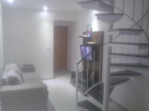 ref.: 7123 - apartamento em santos, no bairro marape - 3 dormitórios