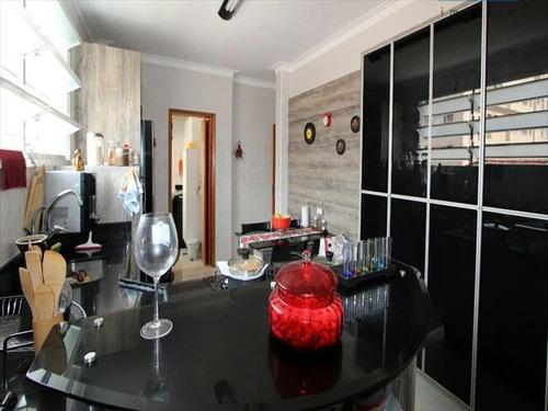 ref.: 7134 - apartamento em santos, no bairro gonzaga - 2 dormitórios