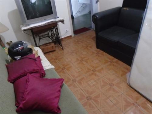 ref.: 7140 - apartamento em sao vicente, no bairro itarare - 1 dormitórios