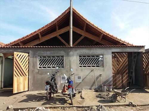 ref.: 716 - casa em mongaguá, no bairro agenor de campos - 2 dormitórios