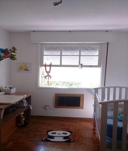 ref.: 7165 - apartamento em santos, no bairro aparecida - 3 dormitórios