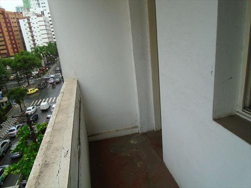 ref.: 7167 - apartamento em santos, no bairro gonzaga