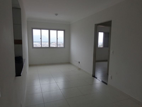ref.: 719 - apartamento em praia grande, no bairro mirim - 2 dormitórios
